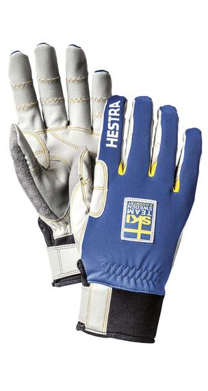 Hestra Ergo Grip Windstopper Race - 5 finger Royalblå (250)